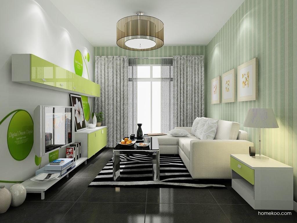 浪漫主义客厅家具D8590