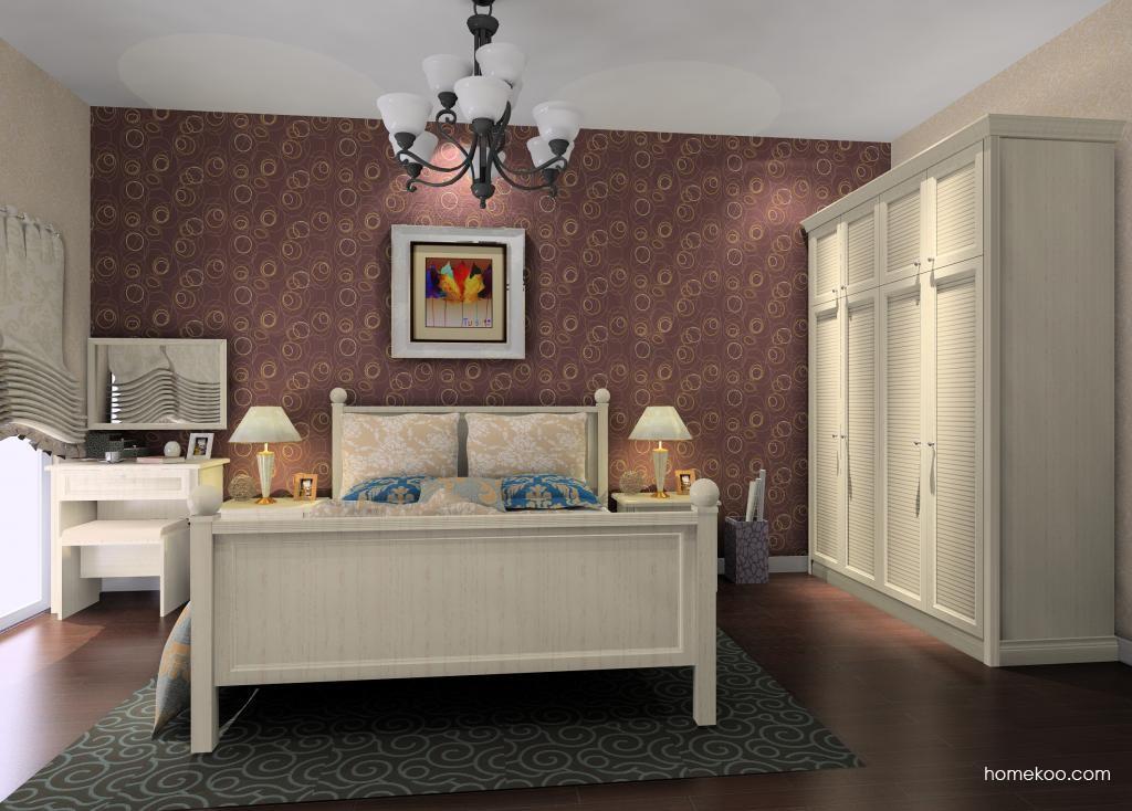 英伦印象卧房家具A11336