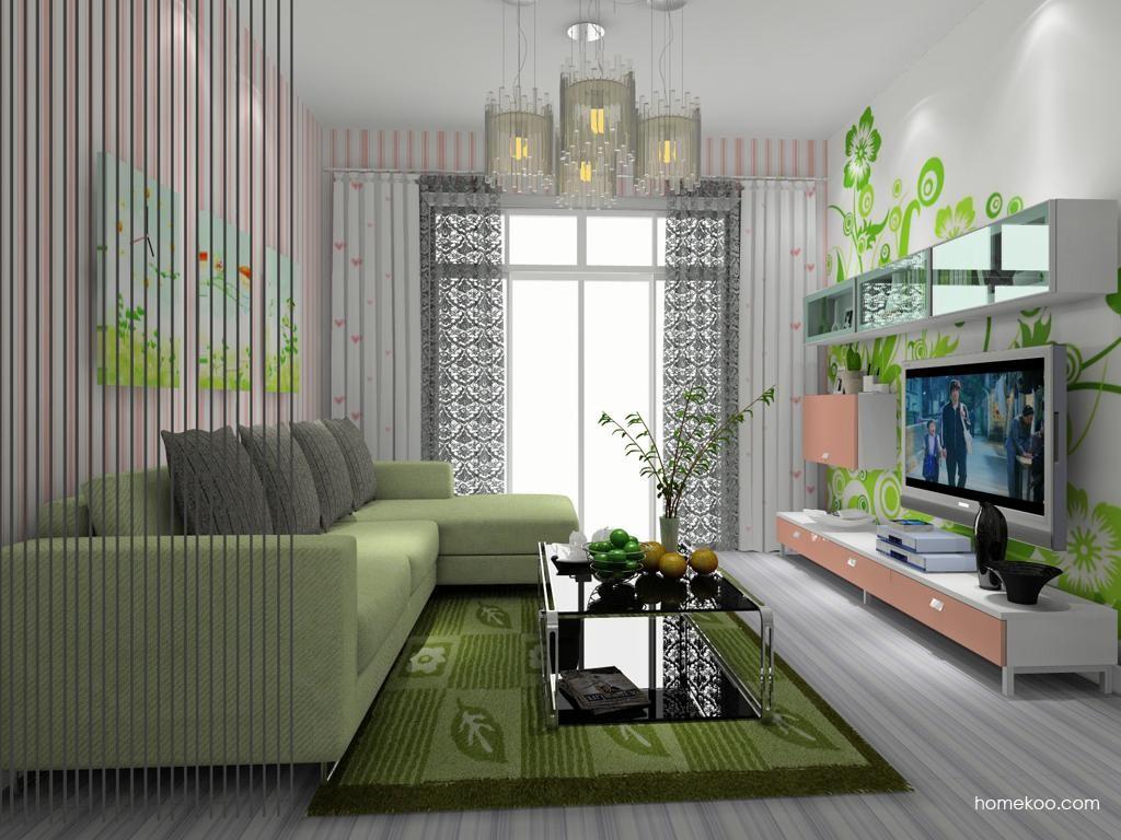 浪漫主义客厅家具D8631