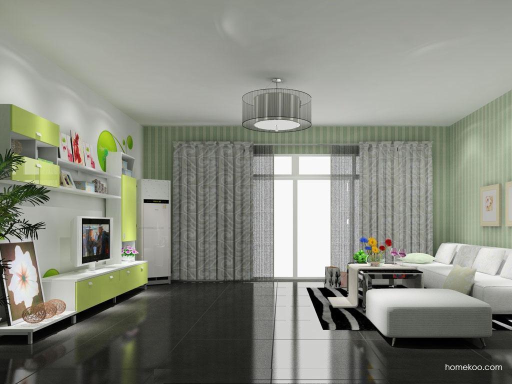 浪漫主义客厅家具D8628
