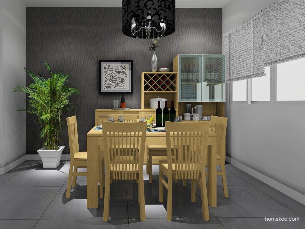 丹麦本色餐厅家具E8620