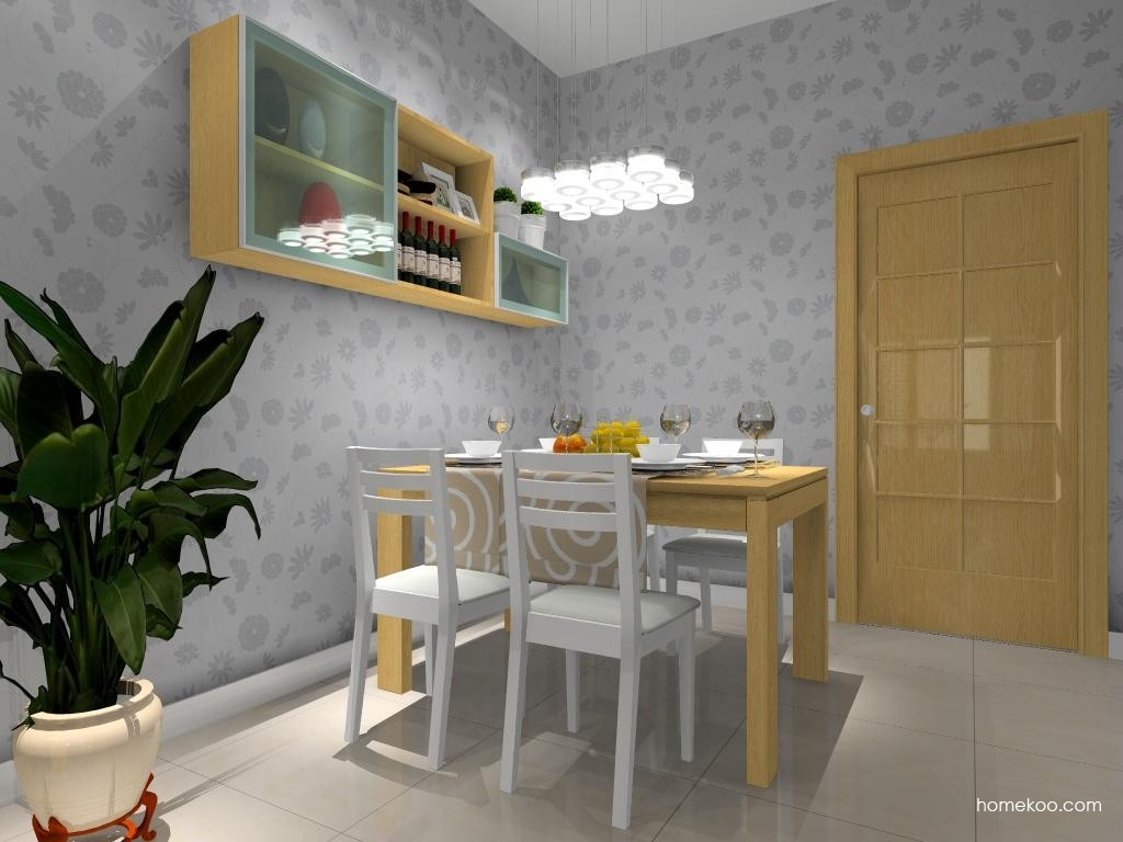 丹麦本色餐厅家具E8639