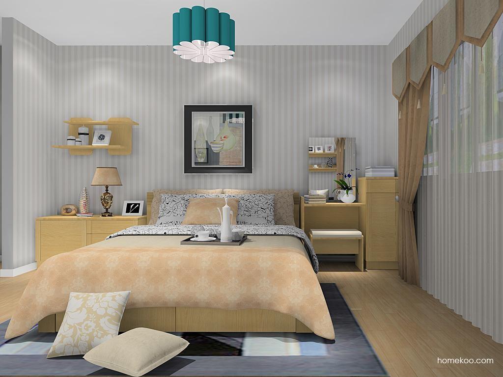 丹麦本色卧房家具A11437