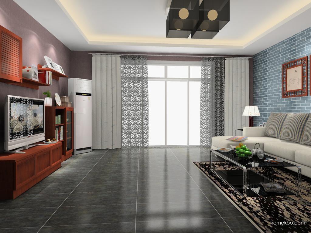 新中式主义客厅家具D8660