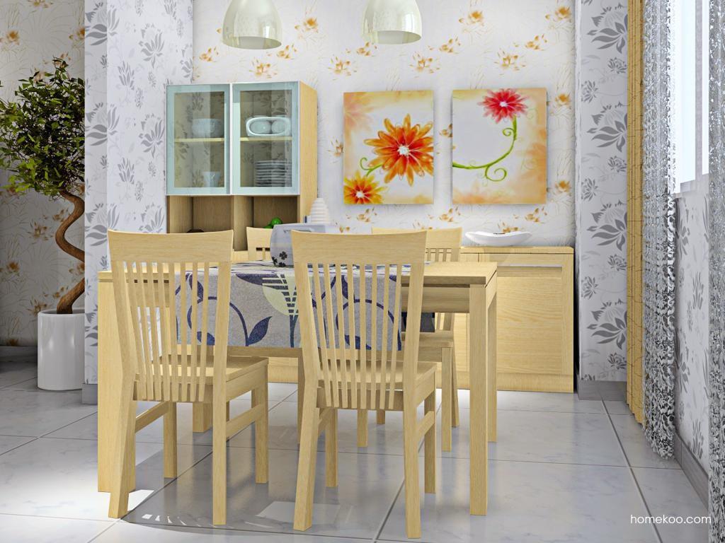 丹麦本色餐厅家具E8643