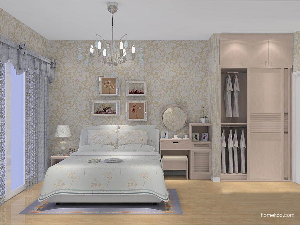 北欧阳光卧房家具A11429