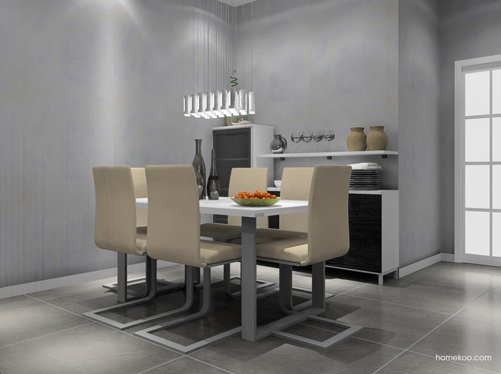 简约主义餐厅家具E8631