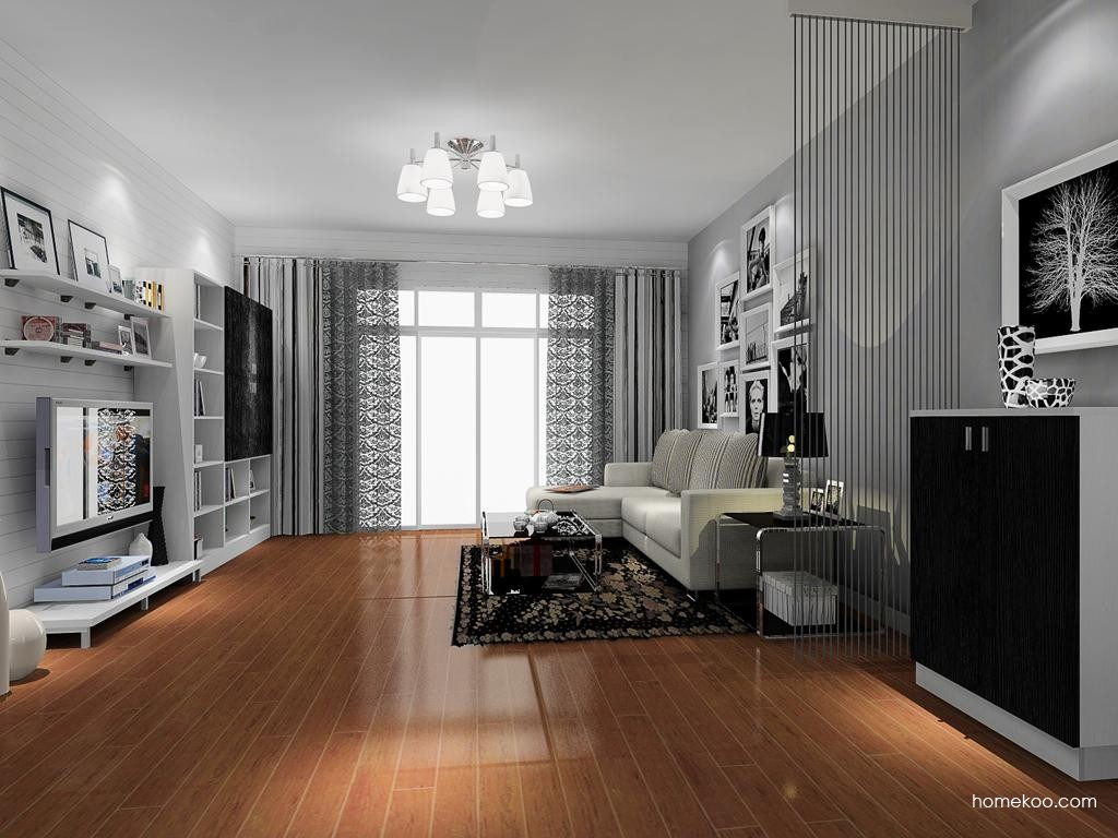 简约主义客厅家具D8639