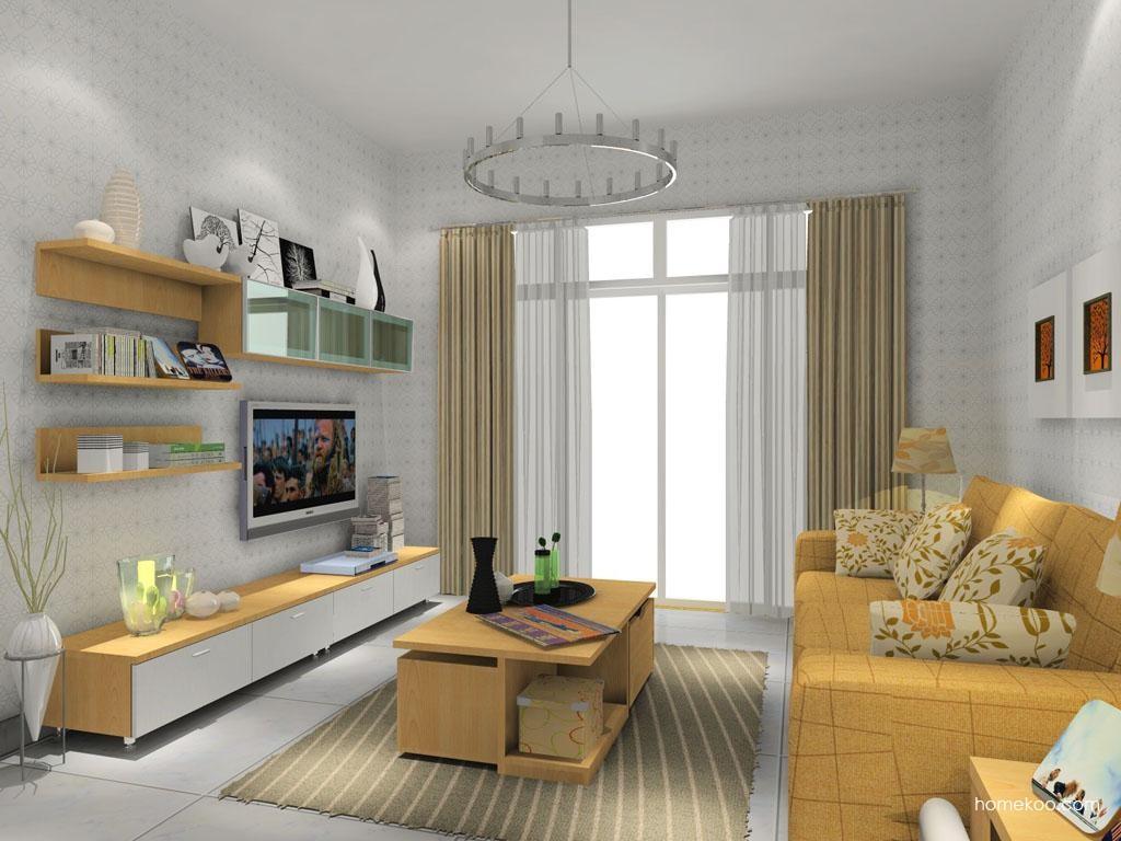 新实用主义客厅家具D8713