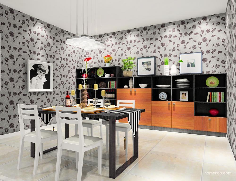 德国森林餐厅家具E8685