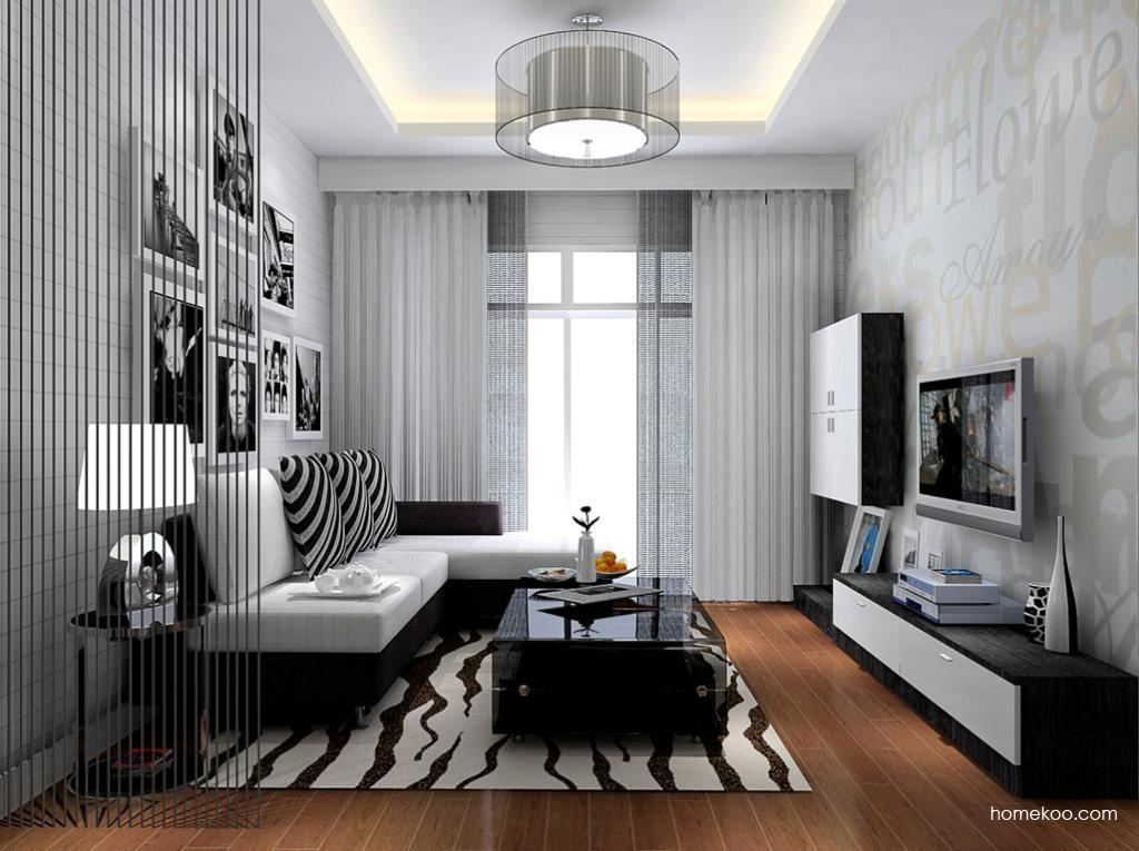 简约主义客厅家具D8685