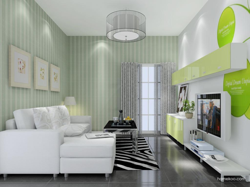浪漫主义客厅家具D8694