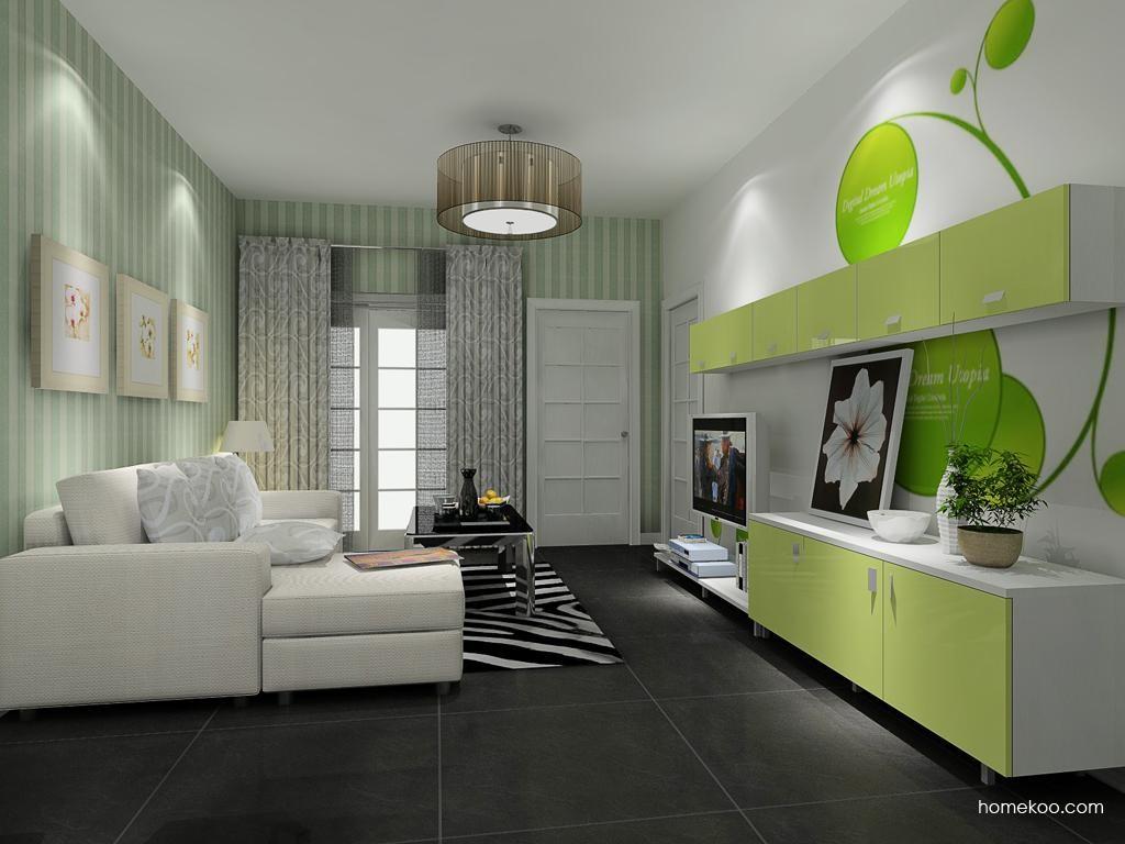 浪漫主义客厅家具D8695