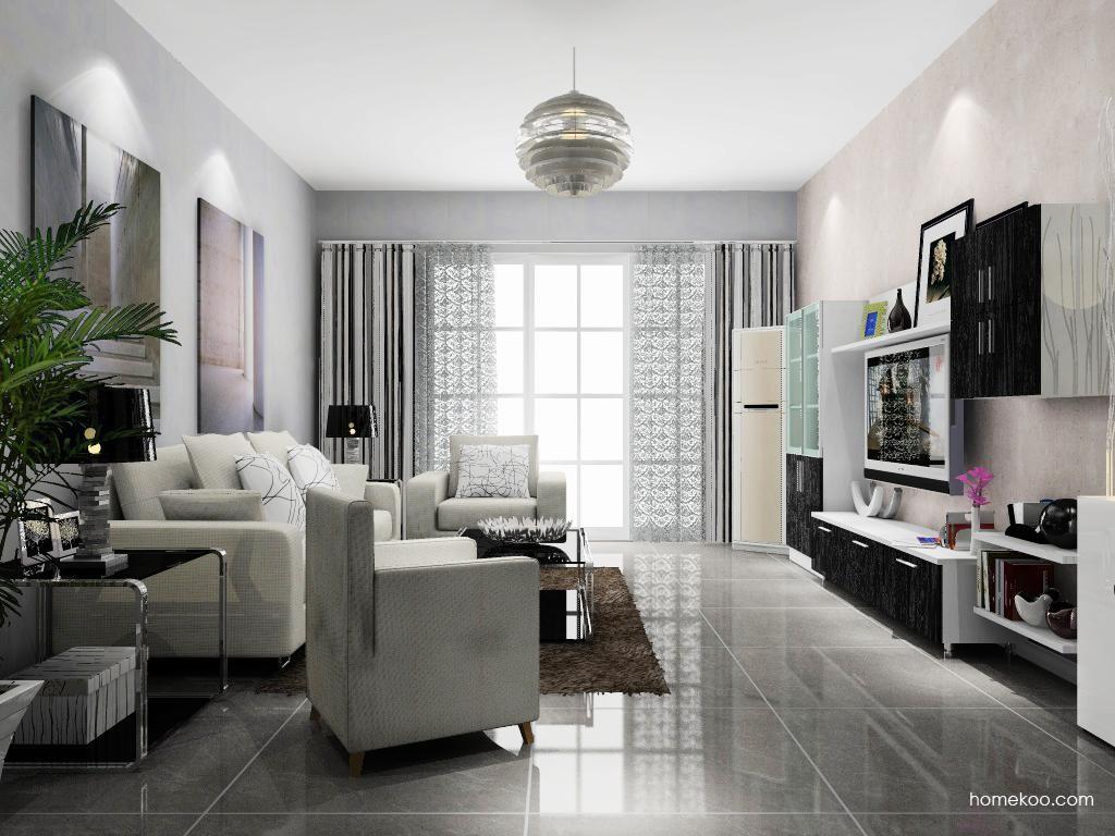 简约主义客厅家具D8688