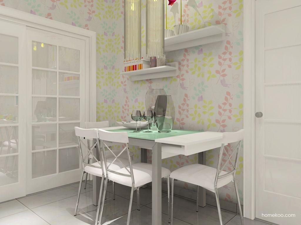 浪漫主义餐厅家具E8705