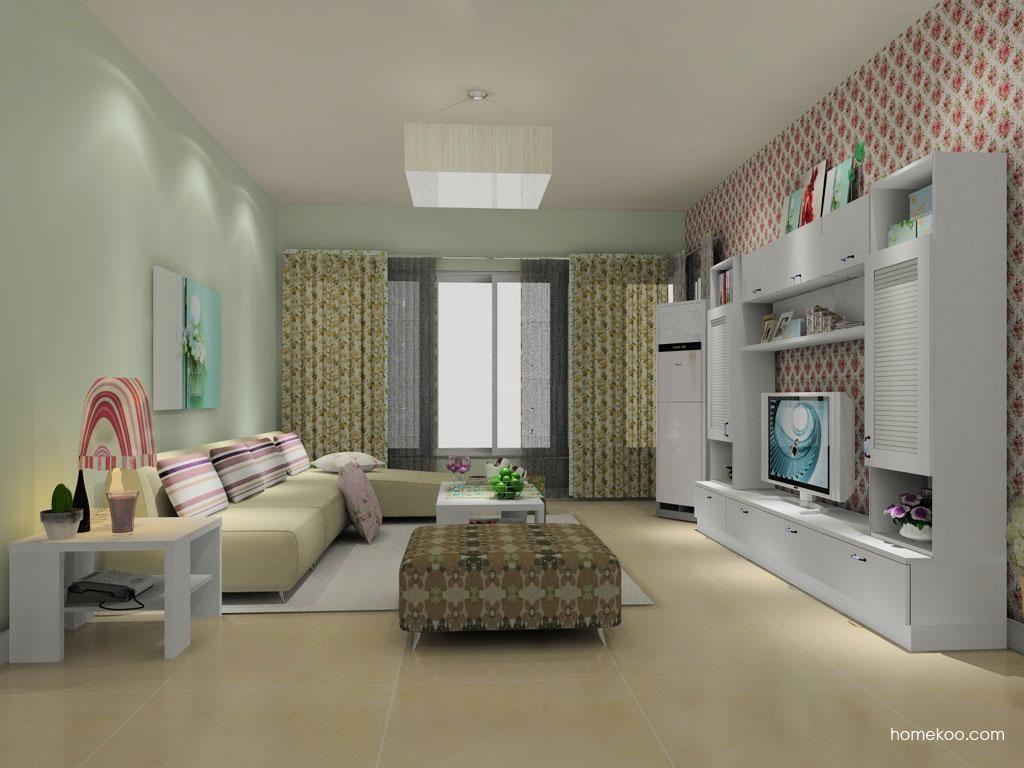 韩式田园客厅家具D8708