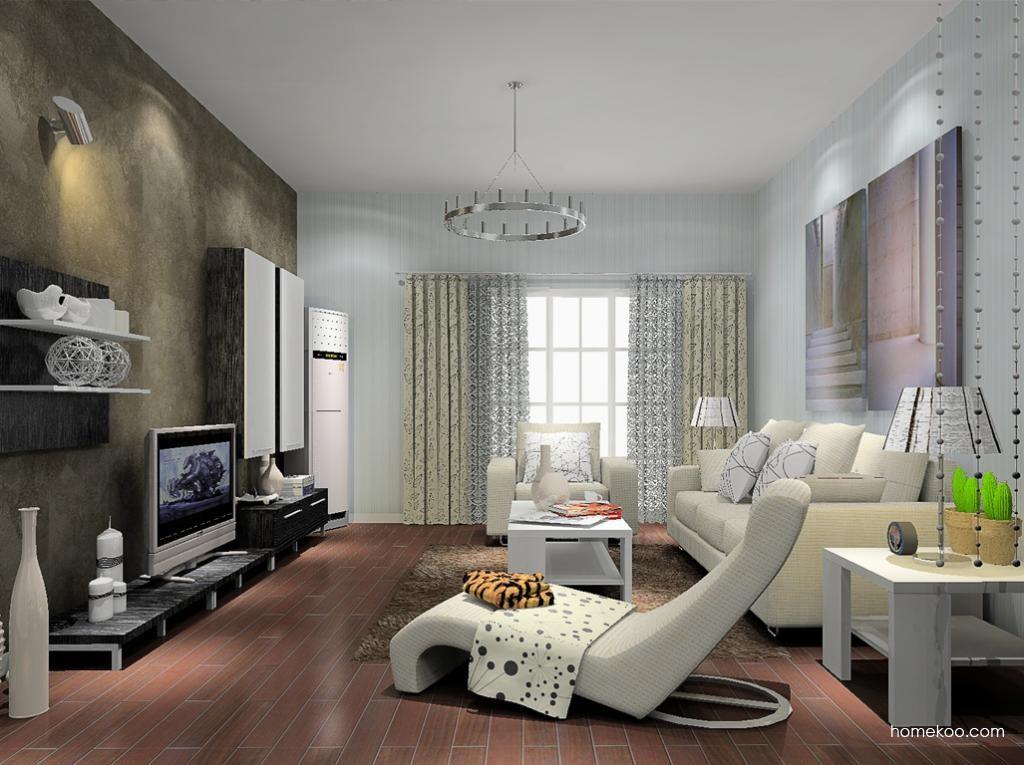 简约主义客厅家具D8704