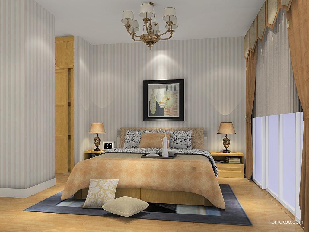 丹麦本色卧房家具A11494