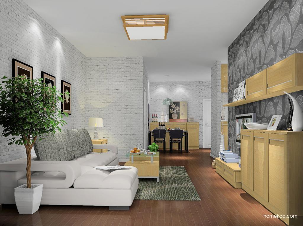 丹麦本色客厅家具D8676