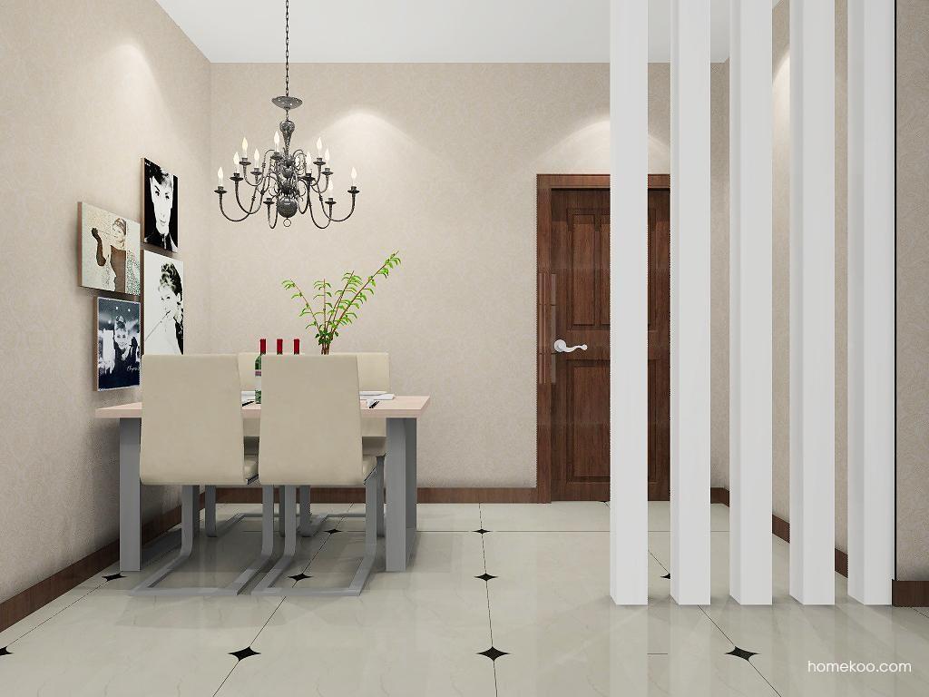 北欧阳光餐厅家具E8739
