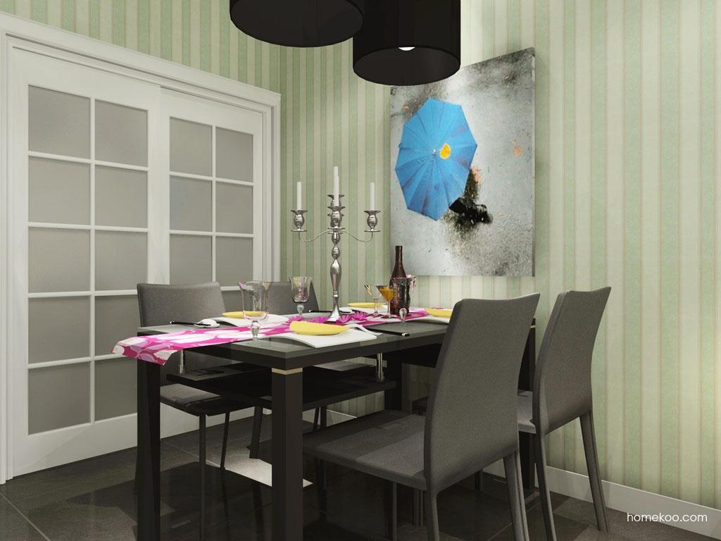 浪漫主义餐厅家具E8753