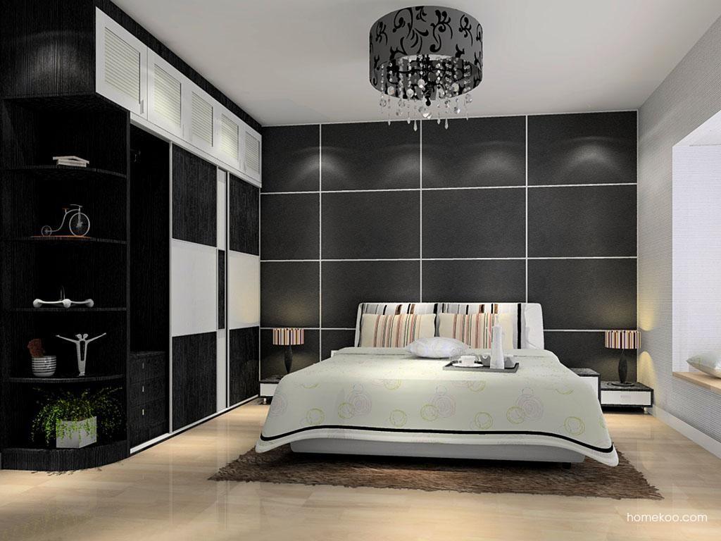 简约主义卧房家具A11528