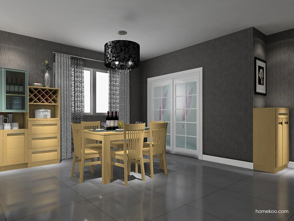 丹麦本色餐厅家具E8720