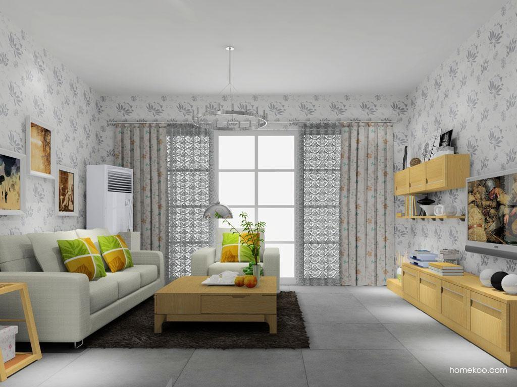丹麦本色客厅家具D8740
