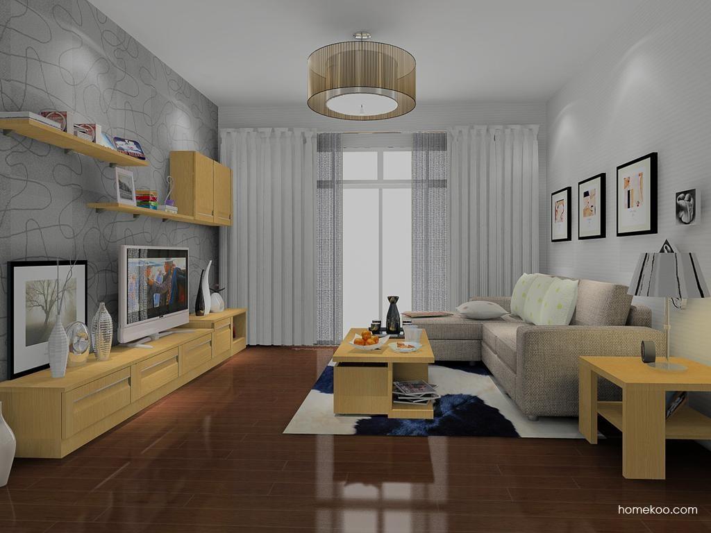 丹麦本色客厅家具D8827