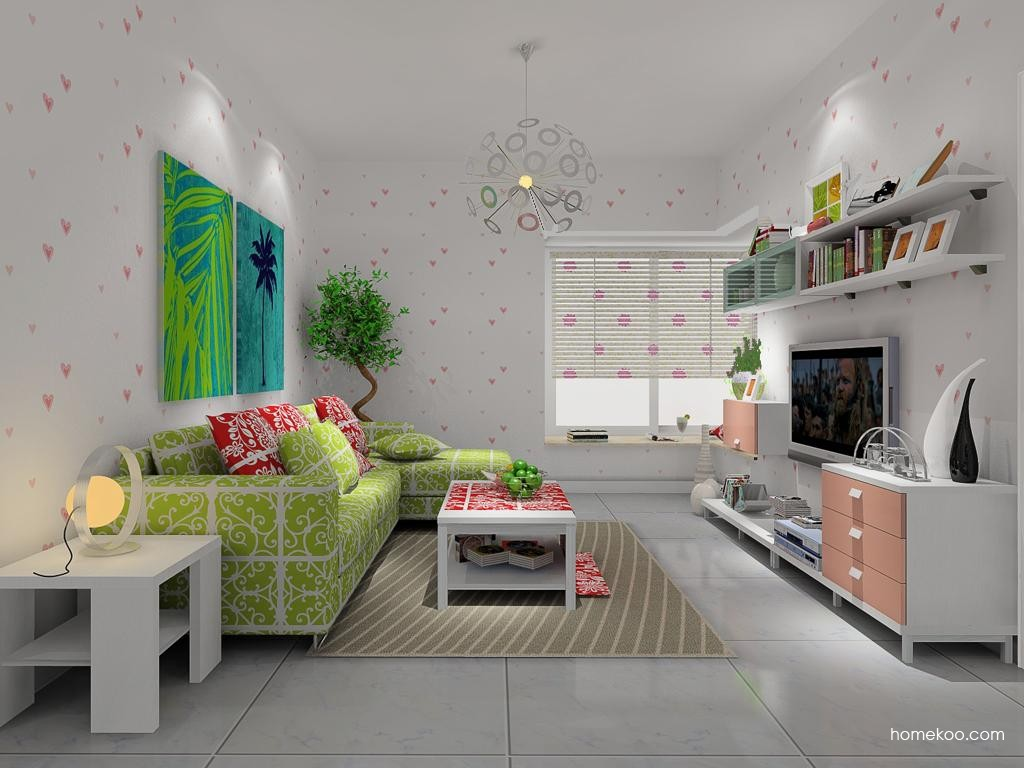 浪漫主义客厅家具D8828