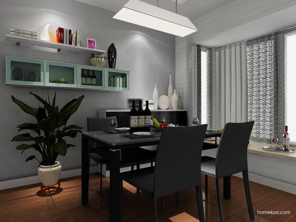 简约主义餐厅家具E8901
