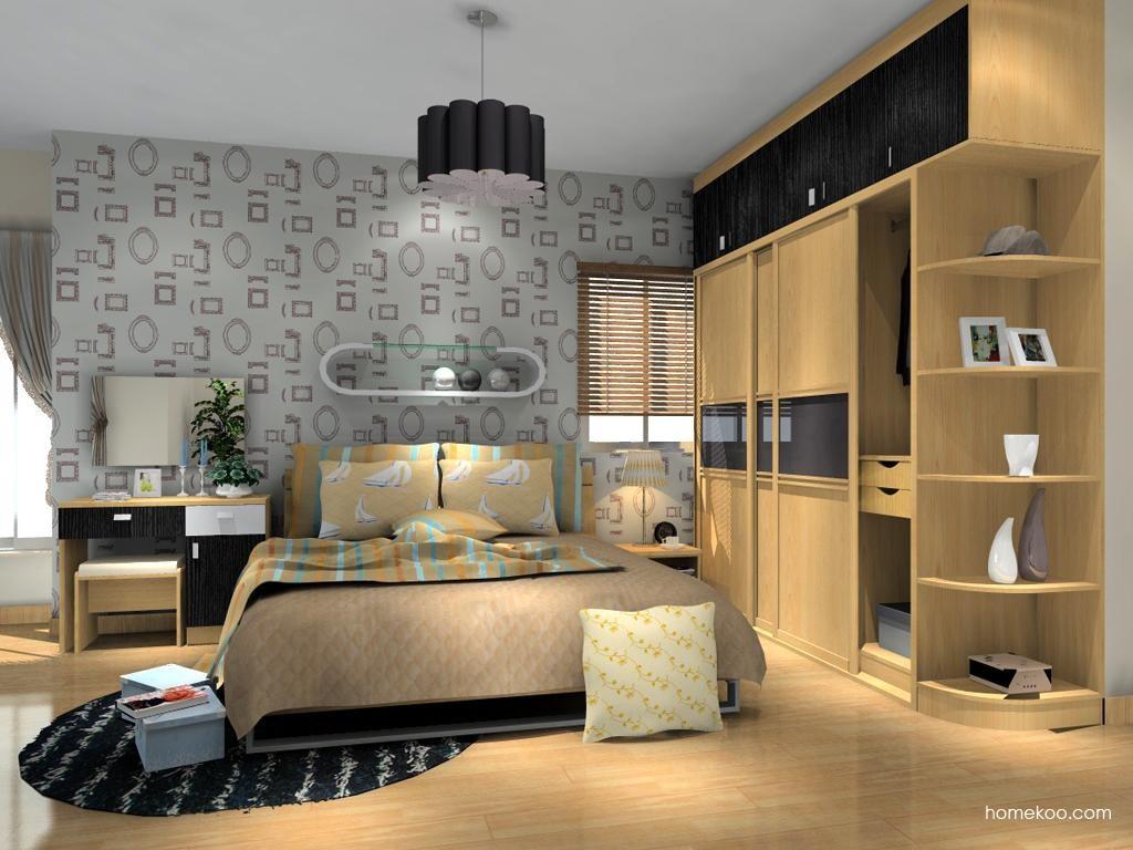 新实用主义卧房家具A11634