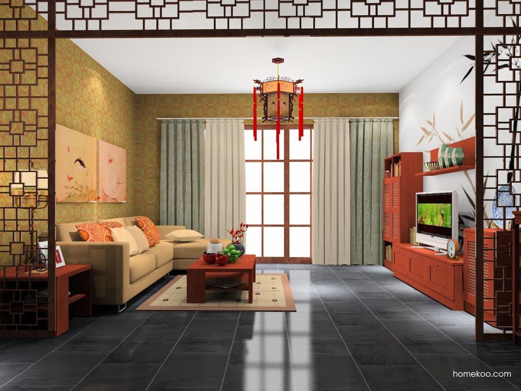 新中式主义客餐厅G10695