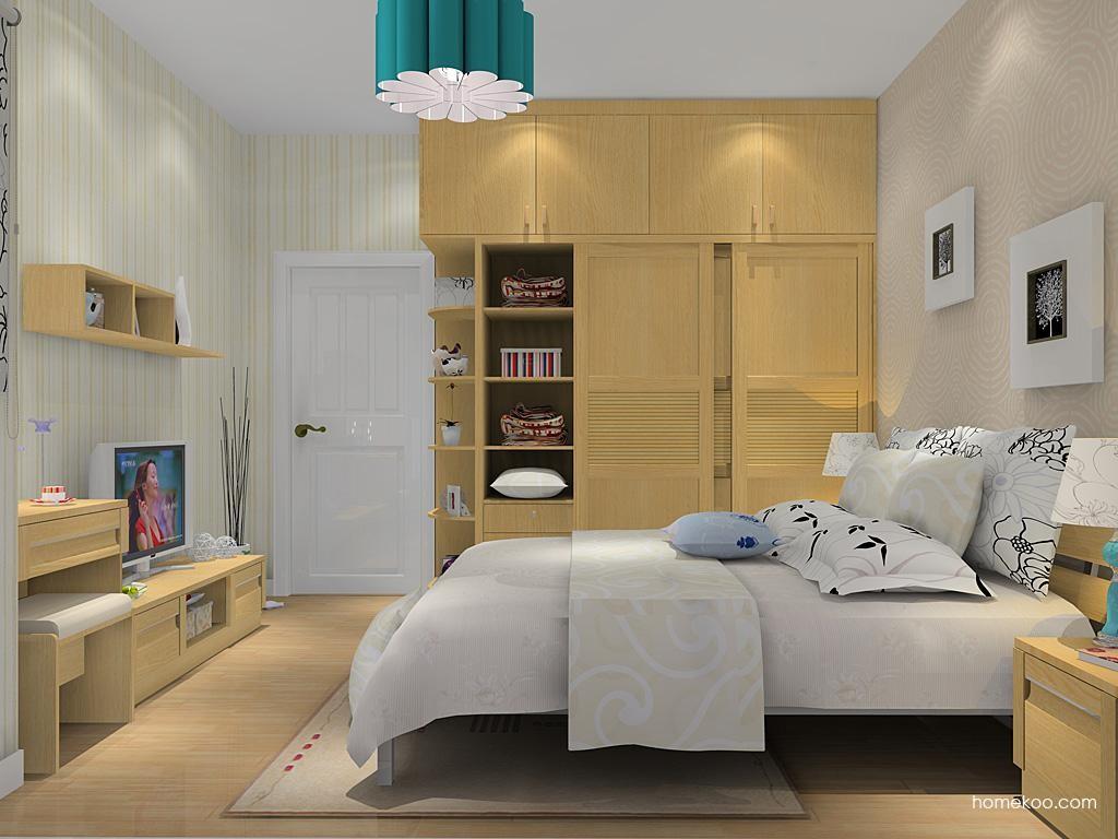 丹麦本色卧房家具A11736