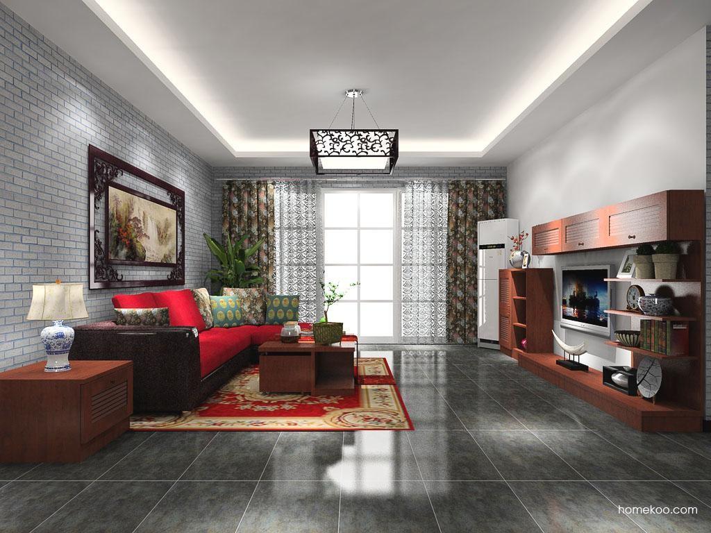 新中式主义客厅家具D8978