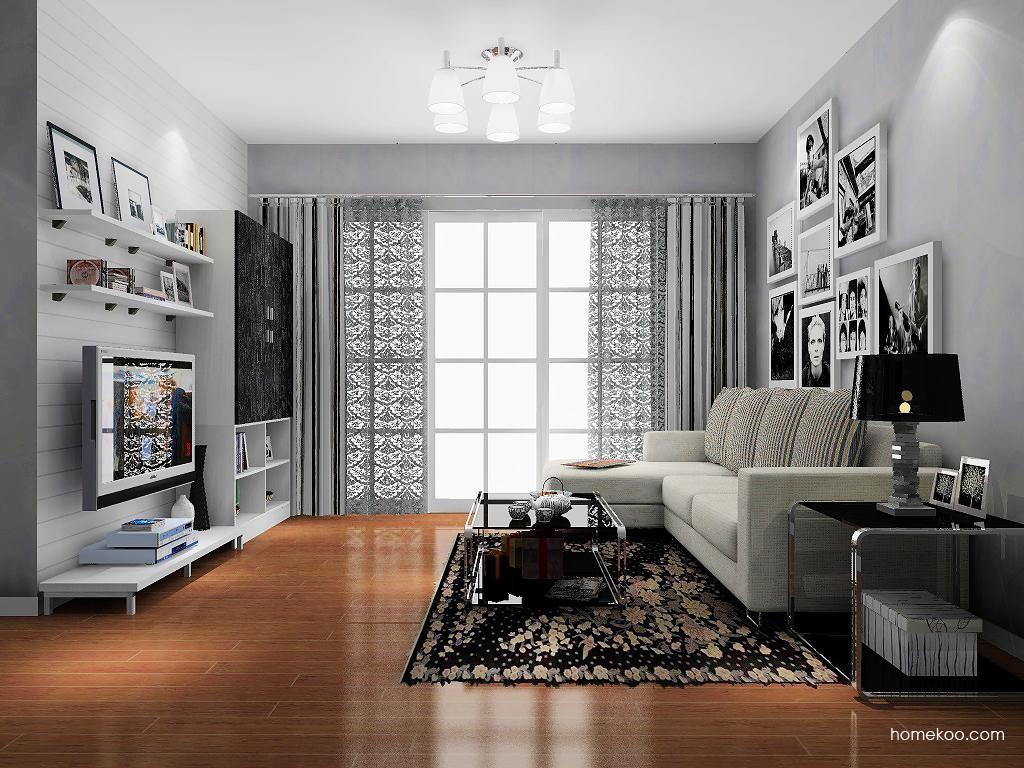 简约主义客厅家具D8996