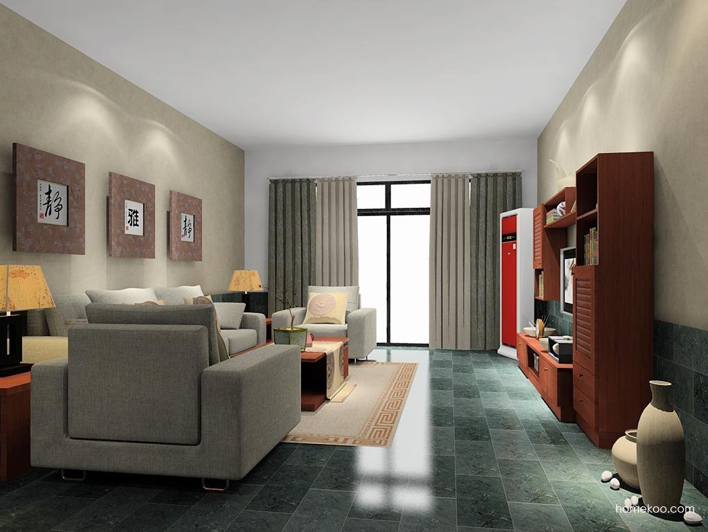 新中式主义客厅家具D9003