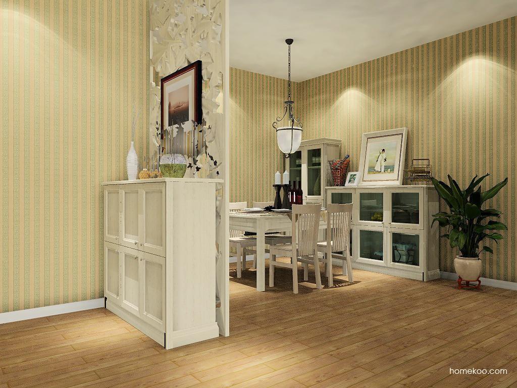 英伦印象餐厅家具E8976