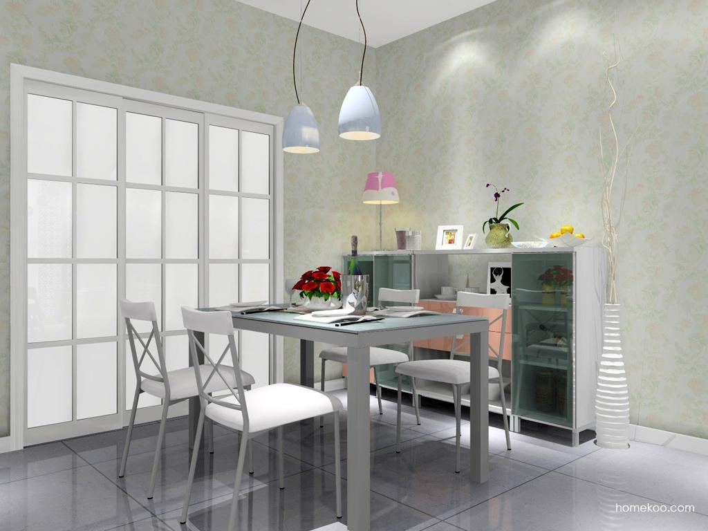 浪漫主义餐厅家具E8987