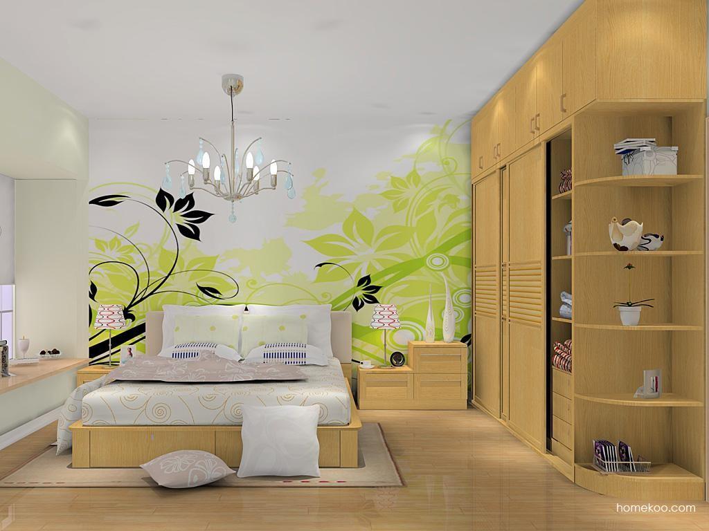 丹麦本色卧房家具A11833