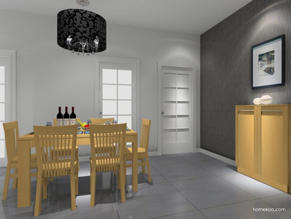 丹麦本色餐厅家具E9022