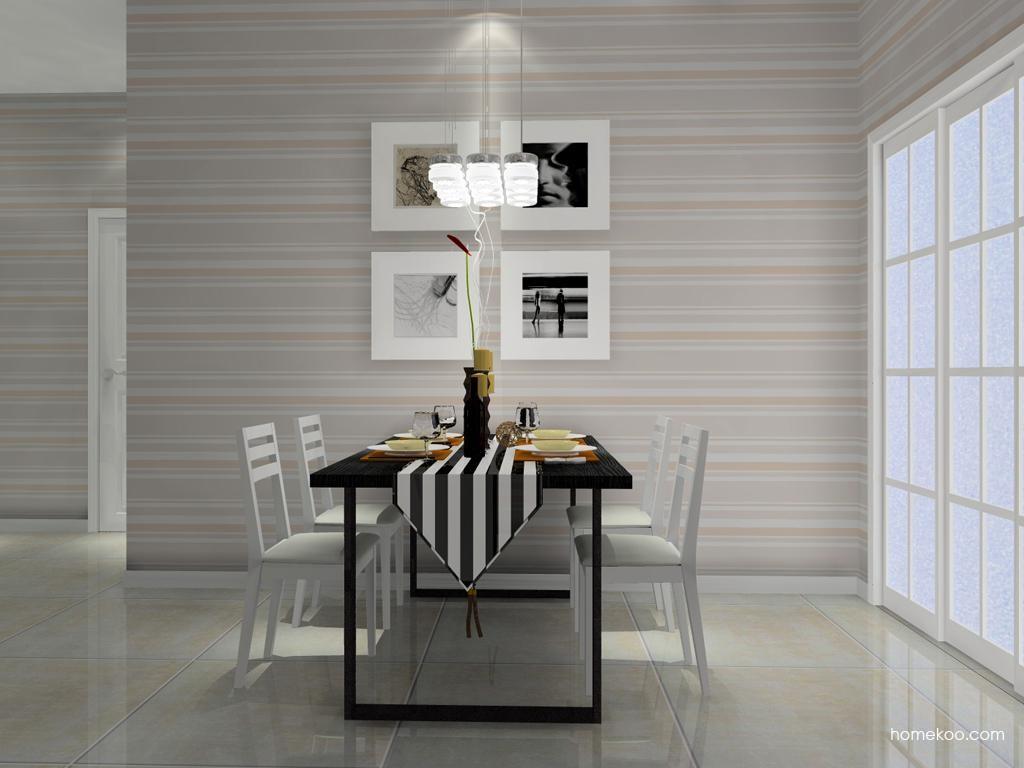 简约主义餐厅家具E9018
