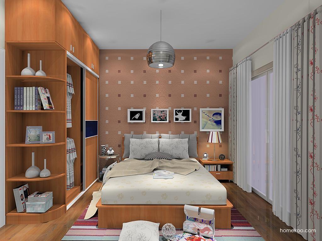 新实用主义卧房家具A11864