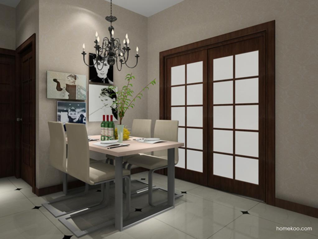 北欧阳光餐厅家具E9052