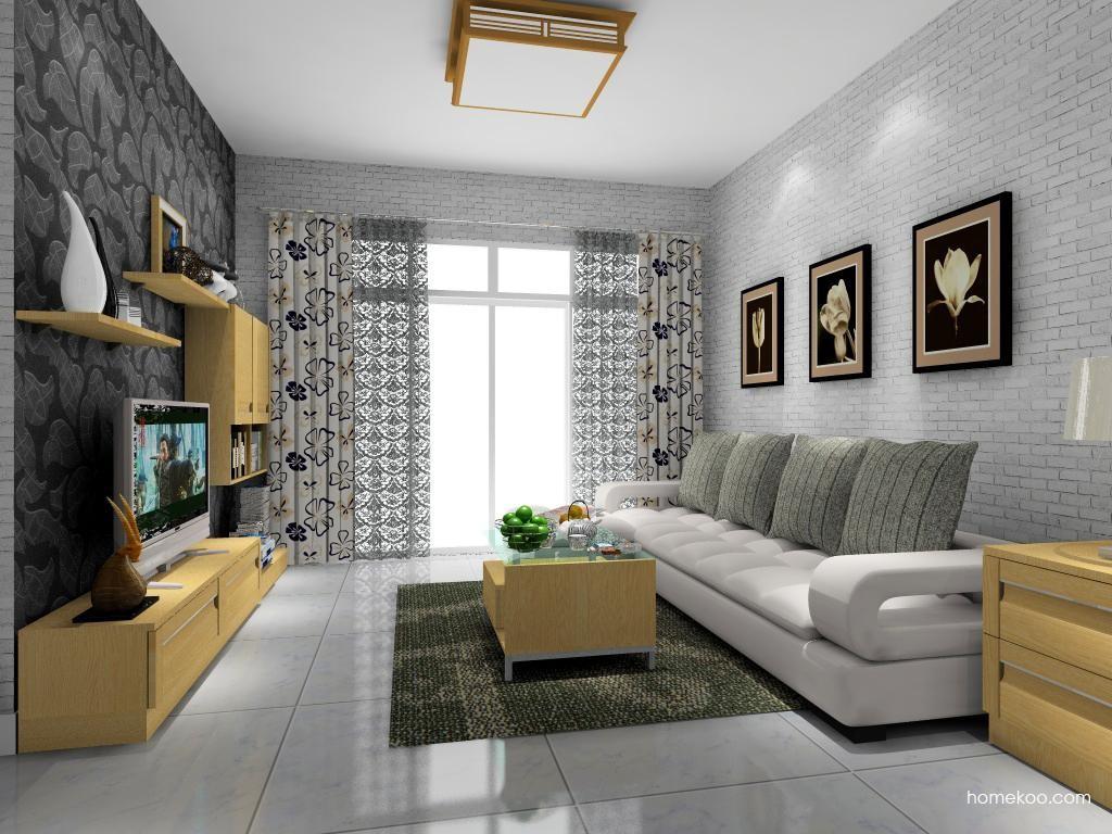 丹麦本色客厅家具D9090