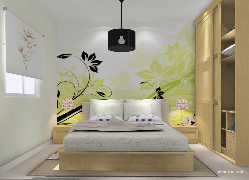 丹麦本色卧房家具A11910