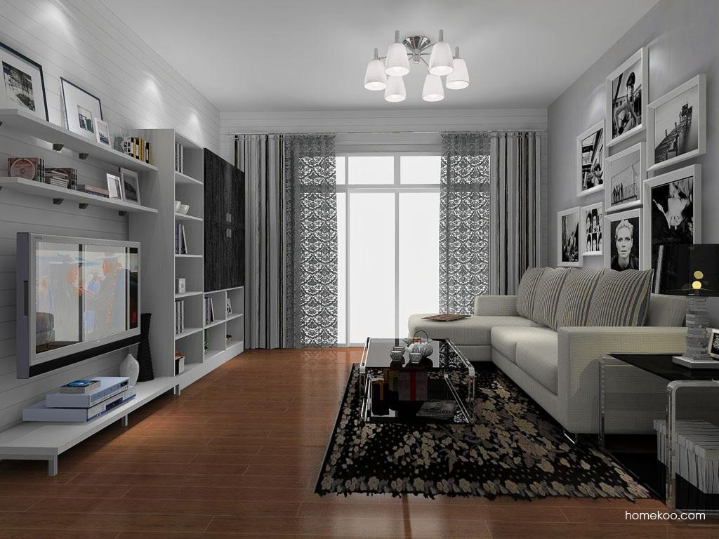 简约主义客厅家具D9098