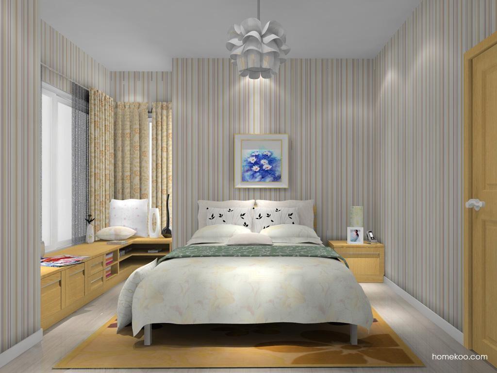 丹麦本色卧房家具A11934
