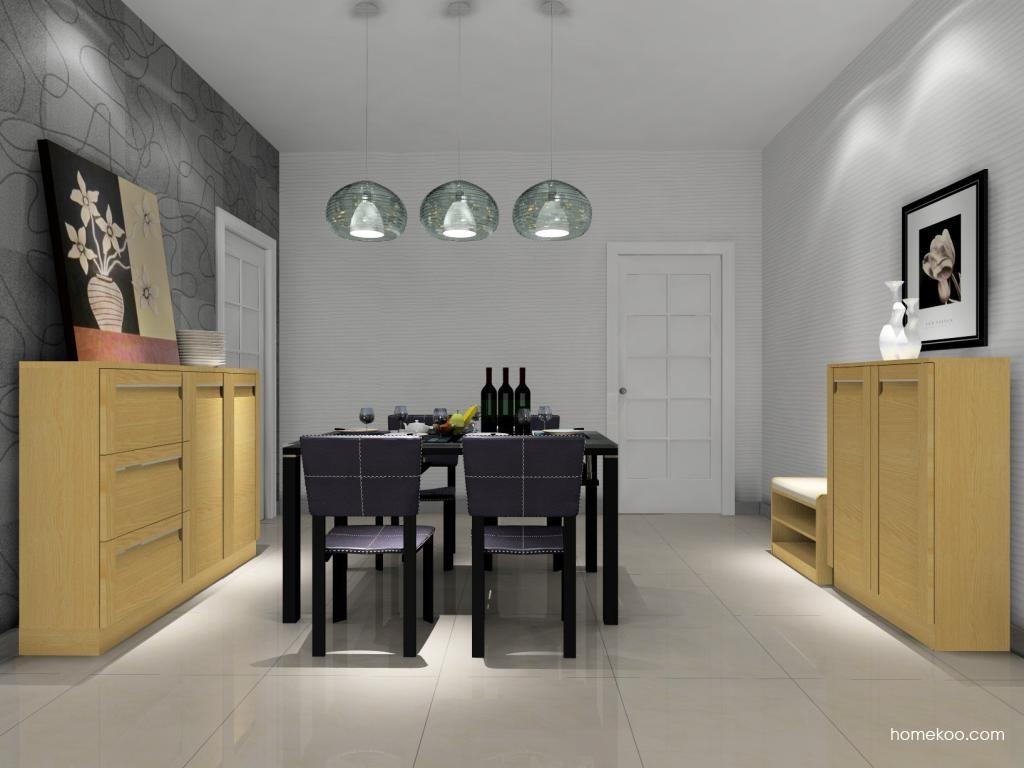 丹麦本色餐厅家具E9133