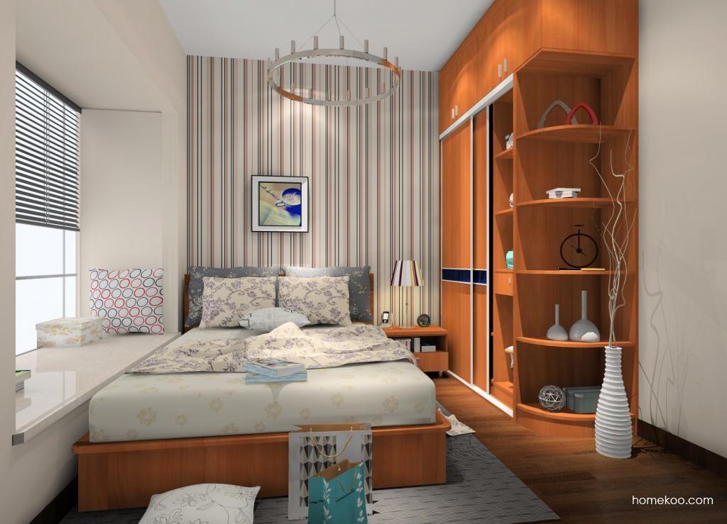 新实用主义卧房家具A12128